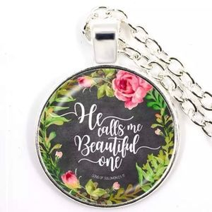 Necklace- NEW-Christian- HE Calls Me Beautiful One